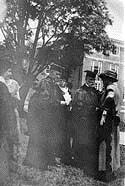 Coolidge at the Wheaton College commencement, 1923 (Courtesy of Wheaton College).
