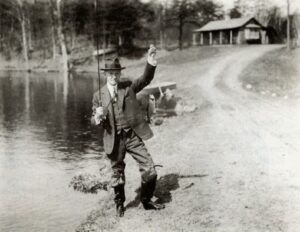 Photo courtesy of the American Museum of Fly Fishing